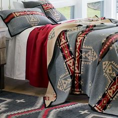 Native American Inspired Blankets - Crossroads blanket by Pendleton