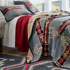 Native American Inspired Blankets - Crossroads blanket by Pendleton