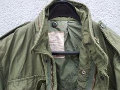 authentic vintage U.S. army  M65 jacket !