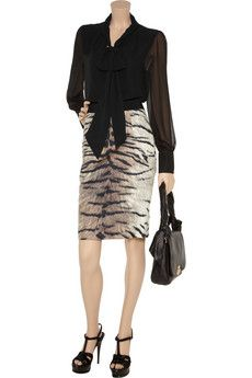 Not normally into animal print but this works.