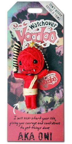 Amazon.com: Watchover Voodoo Aka-Oni Voodoo Novelty: Toys & Games