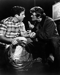 American Graffiti Man Talking to a Guy Holding Cables in a Classic Scene High Quality Photo American Graffiti, Teen Movies, Garage Art, Poster Prints, Art Prints, Cool Posters, Movie Posters, Movie Photo, Classic Movies