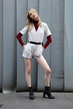 My photo for INVOISE Mag Model: Sasha Titarenko Muah: Violetta Larkina Style: Cake Monster