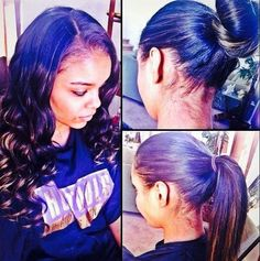 This pull up sew in is FLAWLESS!