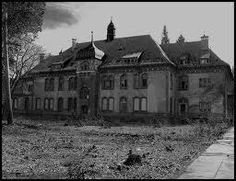 Old run down mansion