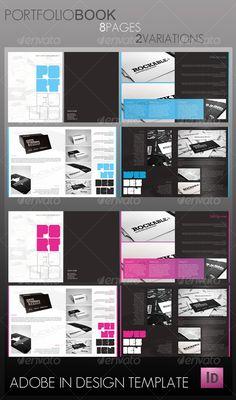 Portfolio Book (8 pages) - Portfolio Brochures