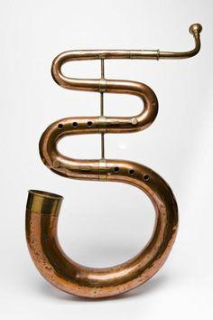 Copper & brass Serpent (Joseph Taylor ca 1815)