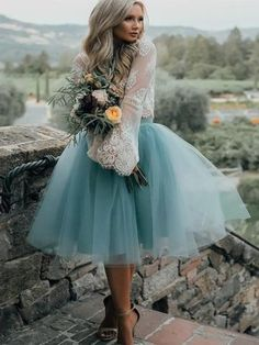 36ee5540eeb74 Long Sleeve Lace Short Turquoise Homecoming Dresses, Affordable Short Party  Sweet 16 Dresses, Perfect Homecoming Cocktail Dresses, CM563