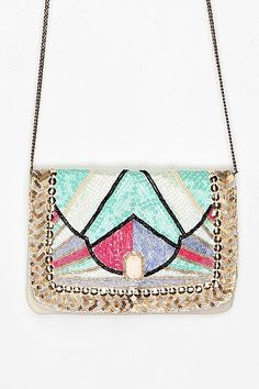 Loving this art deco clutch | Kimchi & Blue via Urban Outfitters