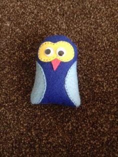 Handmade felt Owl (074)