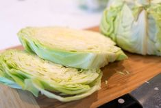 Air fryer cabbage steaks or quarters come out tender yet crispy on the edges with LOTS of flavor. If you love this vegetable this is a new way to try it. Air Fryer Recipes Zucchini, Air Fryer Oven Recipes, Air Frier Recipes, New Recipes, Dinner Recipes, Cooking Recipes, Healthy Recipes, Hamburger Steak In Oven, Cabbage Steaks