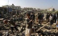 Grave crisi umanitaria in Yemen In Yemen continua l'offensiva della coalizione guidata dall'Arabia Saudita contro i ribelli sciiti. Migliaia di morti a causa delle bombe e per inedia, milioni di sfollati #yemen #isis #iran #coalizione