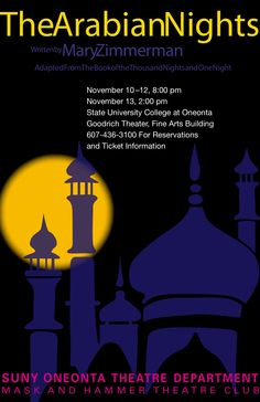 The Arabian Nights. SUNY Oneonta Theatre.