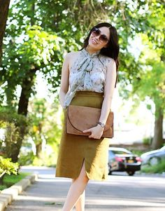More looks by Joanna G.: http://lb.nu/cutandchicvintage  #vintage #chic #blouse #skirt