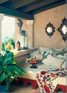 #Moroccan house designed by Martyn Lawrence Bullard. Would you love a house like this?