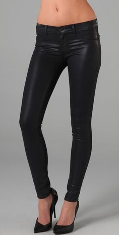 I've always wanted leather pants!! Yeah...only 10% of the population could pull them off...now if I started trying to tone up...maybe some day!!