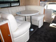 Rv Furniture 88 Quot U Shaped Vinyl Dinette Booth New Rv