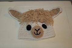Ravelry: Llama / Alpaca Hat pattern by The Crafty Flutist