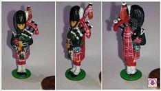 12th scale dolls house Scottish Piper