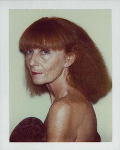 Sonia Rykiel by Andy Warhol