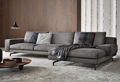 Sherman corner sofa by Minotti - sofas - design at STYLEPARK Sofa Furniture, Luxury Furniture, Furniture Design, Living Room Interior, Living Room Decor, Dining Room, Corner Sofa Living Room, Living Comedor, Minimalist Home