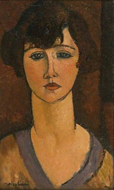 Painting Art Portrait Amedeo Modigliani Ideas For 2019 Amedeo Modigliani, Modigliani Portraits, Modigliani Paintings, Italian Painters, Italian Artist, Figure Painting, Painting & Drawing, Art And Illustration, Psychedelic Art