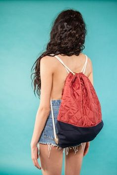 "Gym Bag ""Glossy Denim""  49 EUR"