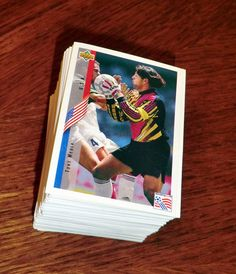 FIFA WORLD CUP 1994 USA 94 Upper Deck complete set stickers