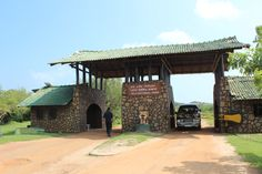 The Entrance to the Sri Lanka's most famous Wildlife park.