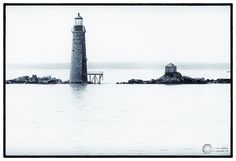 What a lovely shot of Graves Light! So stylish. You can see Graves Light up close on our Autumn Lights Cruise.