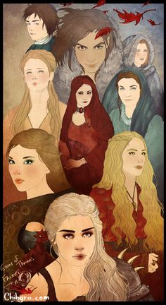 Characters by Chihyro.deviantart.com #asoiaf