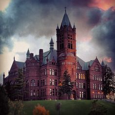 Crouse College (Visual & Performing Arts) at Syracuse University.