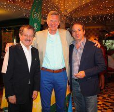 Bruno y Giancarlo con el Dr. Dieter