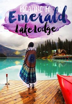 Escaping to Emerald Lake Lodge http://seattlestravels.com/escaping-emerald-lake-lodge/