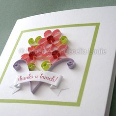 Flowers Quilling Patterns PDF Tutorial by PaperZenShop on Etsy