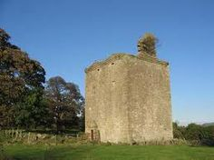 Barr Castle, Renfrewshire. It is owned by Fergus MacDowall, the chief of the MacDowalls