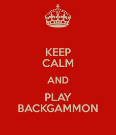 Backgammon keeps me in a positive state of mind. Can't get mad while playing this game, it will affect your concentration! #backgammon