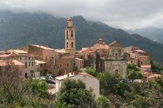 Montegrosso (Montemaggiore) - France - Corse du Sud, le village. Jean-Pol Grandmont