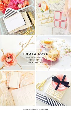 Deluxemodern Photography Tips | How to Pretty Up your photos for marketing and social media.