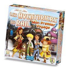 Les aventuriers du Rail - Mon premier voyage - Castello   Jeux et Jouets