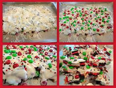 Keeping up with the Kitchen Mom: Christmas Cookie Bark