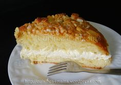 Bienenstich - Nid d'abeille - un gâteau allemand très gourmand!
