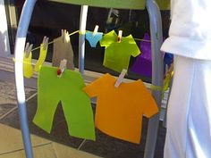 I found some very cute ladybird pegs at our local supermarket this week and decided to make a game from them for the girls. Bubble finds a . Creative Curriculum Preschool, Preschool Centers, Preschool Themes, Classroom Activities, Preschool Activities, Toddler Teacher, Toddler Class, Dramatic Play Themes, Clothing Themes