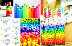 """Browsing Pinterest is a very rewarding and relaxing activity. Inspiration can be drawn from any item, from any picture or experience and today we have found inspiration in a four words """"Fold Lucky Paper Stars"""". These are four words that stand for a rainbow diy […]"""