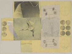 RAUSCHENBERG Untitled, 1979 Robert Rauschenberg Solvent transfer and fabric collaged on paper, 23 x 31 1/2 inches Source: museumuesum