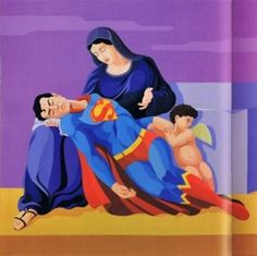 Giuseppe Veneziano, Mercy Superman.