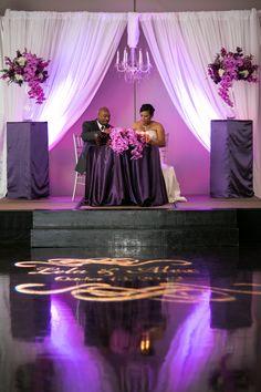 Movie Themed Wedding in Atlanta by Anna and Spencer Photography: Lela and Alex Purple Wedding, Trendy Wedding, Wedding Bride, Wedding Table, Wedding Styles, Wedding Reception, Dream Wedding, Wedding Ideas, Wedding Fun