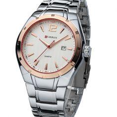 Kvalitné analógové pánske hodinky business z chirurgickej ocele 2a52abc43ce