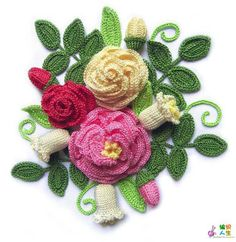 Flores para aplicação   MEU MUNDO CRAFT
