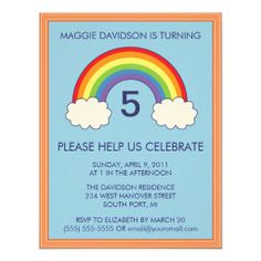 =>>Cheap          Rainbow Birthday Party Invitations           Rainbow Birthday Party Invitations in each seller & make purchase online for cheap. Choose the best price and best promotion as you thing Secure Checkout you can trust Buy bestDeals          Rainbow Birthday Party Invitations lo...Cleck Hot Deals >>> http://www.zazzle.com/rainbow_birthday_party_invitations-161266368171009818?rf=238627982471231924&zbar=1&tc=terrest